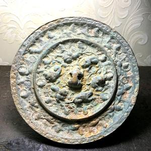 【收藏级精品青铜重器】宋仿唐代海兽葡萄镜