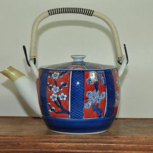日本高山瓷茶壶