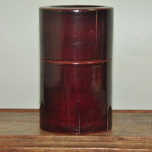 日本漆器茶叶罐