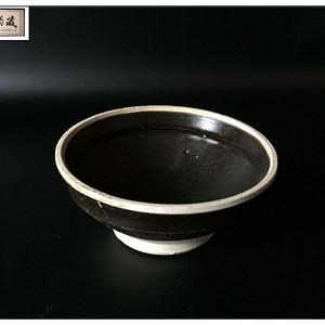 【宋瓷雅珍】宋 吉州窑白覆轮茶盏