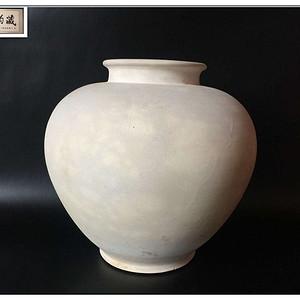 【艺术珍品】唐 巩县窑白釉万年罐