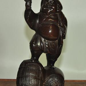 日本大黑天财神塑像