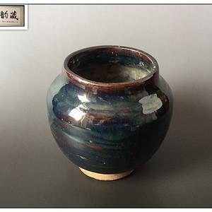 【魅惑窑变】辽金  窑变釉茶叶罐