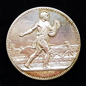 【包老保真】1904法国拉格朗日纯银纪念银币