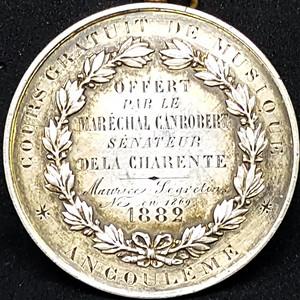 【包老保真】1882法国纯银币
