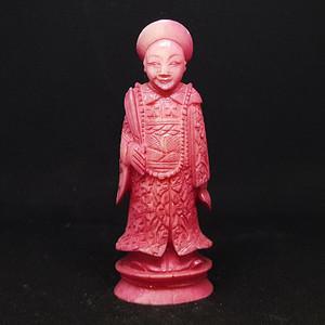 【珍品】42.76克清代珍贵材质人物雕件