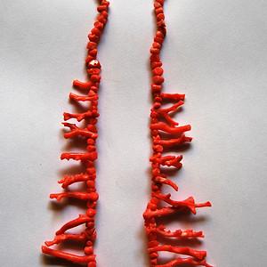 【金牌】天然  珊瑚项链