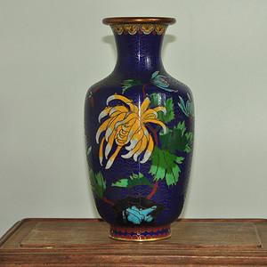 景泰蓝赏瓶