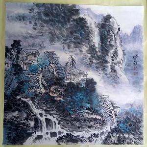 【联盟】白崇然山水画