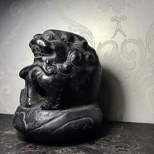 【收藏级镇宅神兽】清代老石头狮子镇纸案头狮