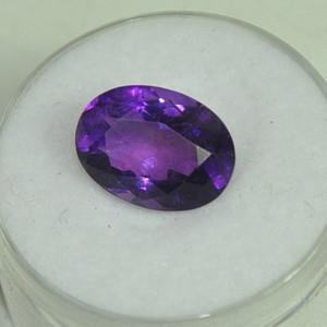 4克拉紫晶戒面