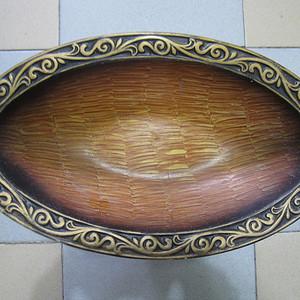 金牌--创汇期铜胎珐琅超大供盘