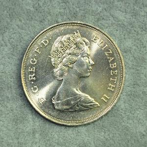 1980年英国王太后大寿纪念精制银币