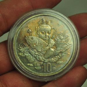 吉庆有余纪念银币