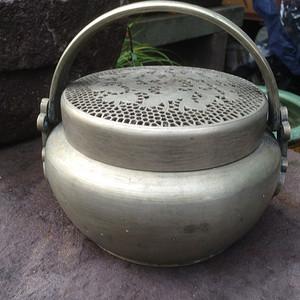 (联盟)老铜手炉一只