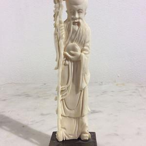 【联盟】珍贵材质寿星雕件