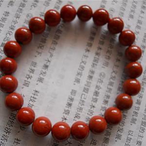 南红柿子红手串
