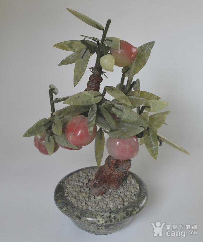 创汇时期宝石桃树盆景