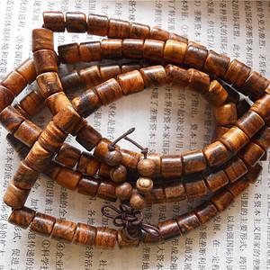 花奇楠筒珠项链