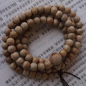 沉香108佛珠项链