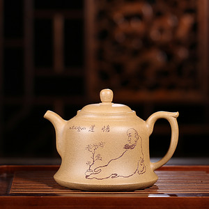 国家级高级工艺美术师倪新安老师力作震撼来袭! 【品名】禅茶一味 保真包