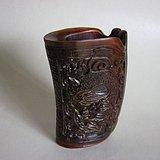 角雕龙纹杯
