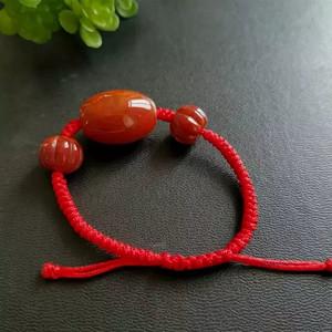 (金牌)南红玛瑙手串 天然宝石