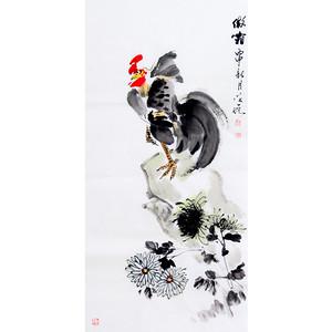 【联盟】王学增花鸟画【傲霜】