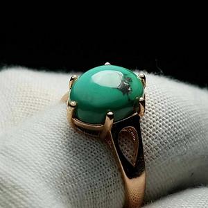 【金牌】高瓷原矿绿松石戒指