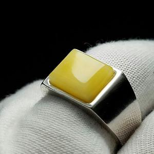 【金牌】纯天然蜜蜡戒指
