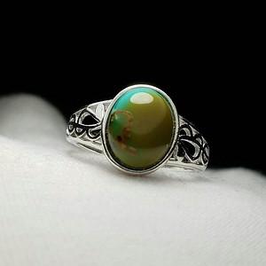 【联盟】高瓷原矿绿松石戒指