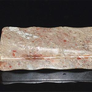 巴林石浅浮雕节节高墨盒