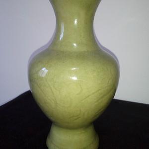 龙泉窑划花梅瓶