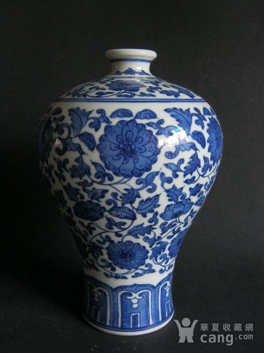 青花瓷赏瓶图1