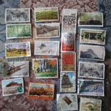21张各类邮票