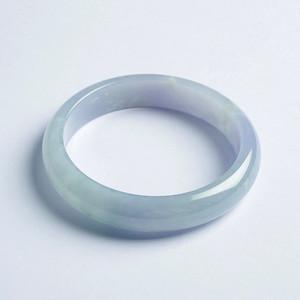 冰紫翡翠平安手镯(57mm)-32HR04