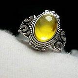 纯天然蜜蜡戒指