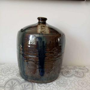 联盟 单色釉罐