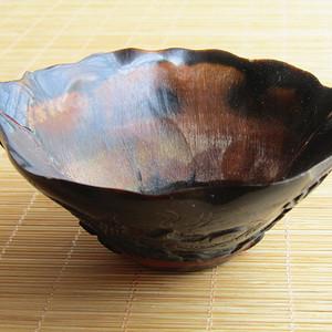 珍贵材质 拼镶  益寿延年 碗摆件 包浆老厚工艺精湛