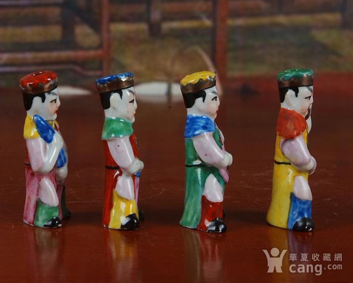景德镇文革老厂瓷器 精品收藏 雕塑瓷厂精品雕塑  四大天王图3