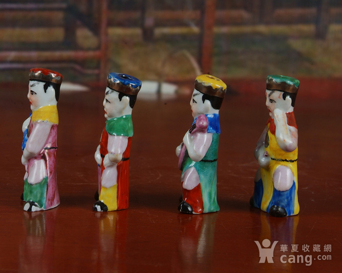景德镇文革老厂瓷器 精品收藏 雕塑瓷厂精品雕塑  四大天王图5