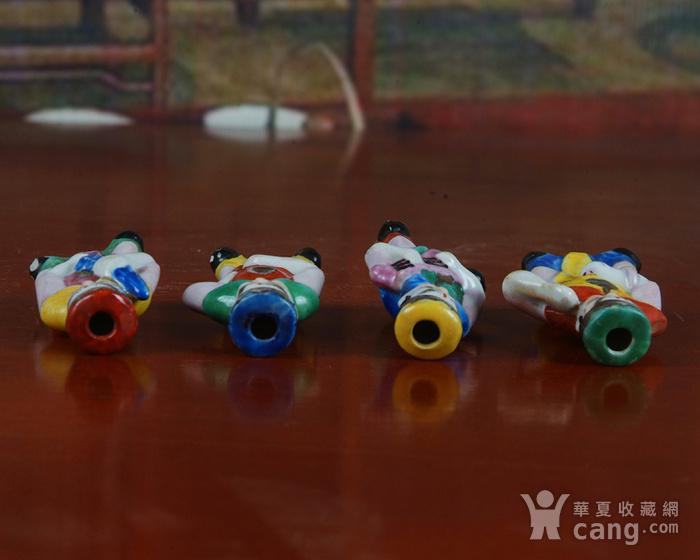 景德镇文革老厂瓷器 精品收藏 雕塑瓷厂精品雕塑  四大天王图6