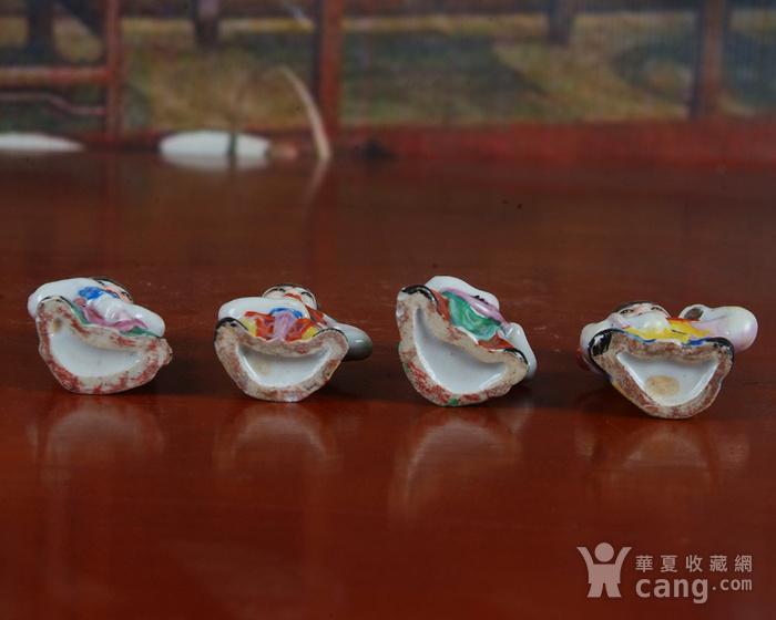 景德镇文革老厂瓷器 精品收藏 雕塑瓷厂精品雕塑  四大天王图7