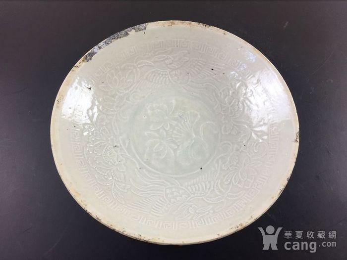 竞猜:宋 顶级青白釉凤穿荷塘坦腹大碗图1-在线竞猜-图片|图库|价格