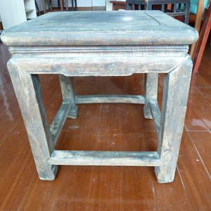 清代榉木禅凳