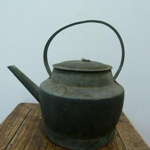 晚清铜水壶