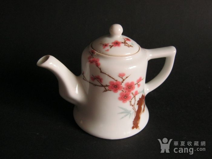 红色官窑   六十年代中南海怀仁堂珍品壶图1