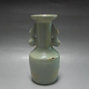 《联盟》龙泉窑双耳盘口瓶