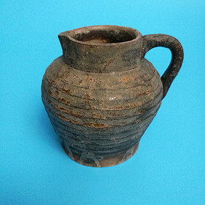 联盟 宋吉州窑褐釉公道杯