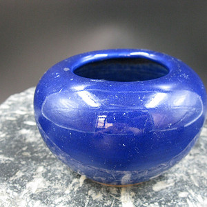 祭蓝釉文房水洗